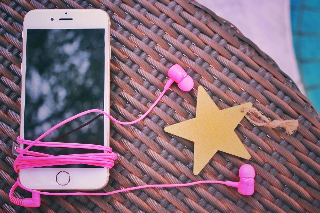 ピンク色のもの
