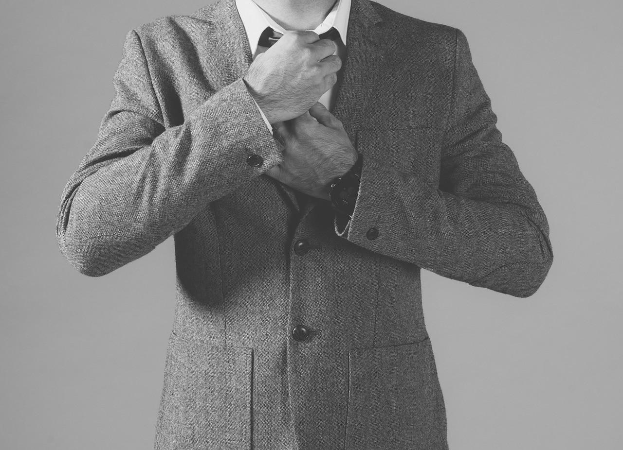 男性のジャケットスタイル
