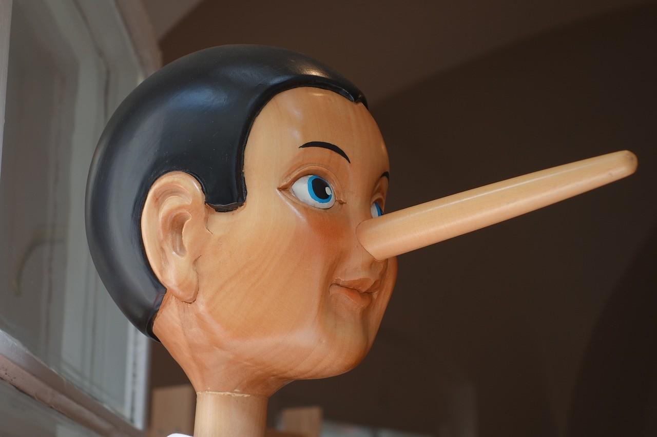 嘘つきの男性